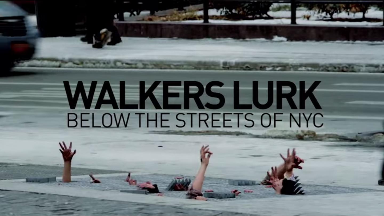 Walking Dead Stunt