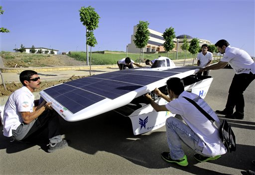 Iran US Solar Car