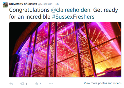SUSSEX CONGRATS
